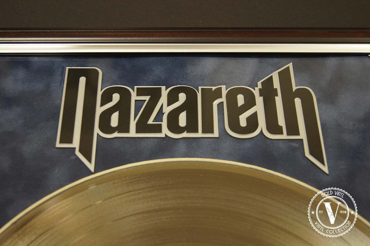 Gold Vinyl Nazareth Loud N Proud