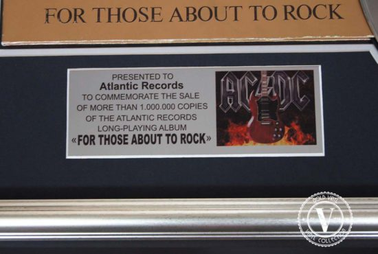 Ac/Dc — For Those About to Rock