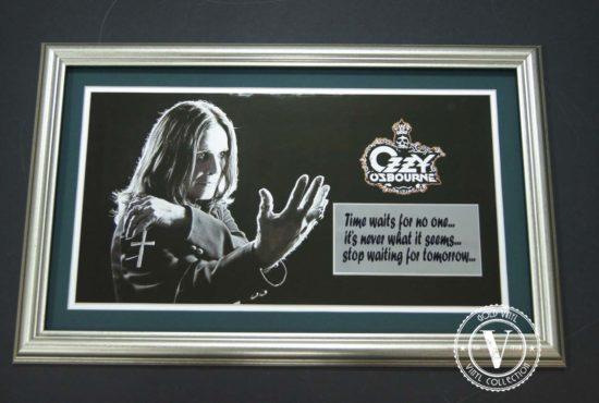 Ozzy Osbourne Frame