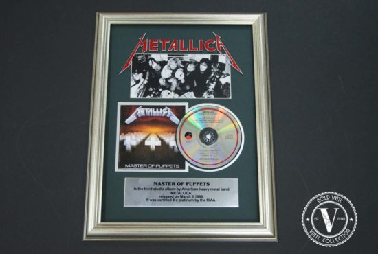 Metallica — Master of Puppets ( CD )