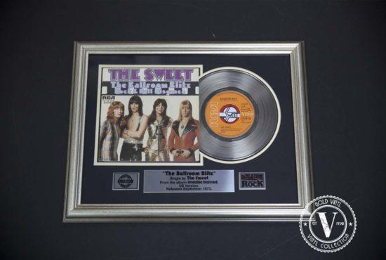 The Sweet - The Ballroom Blitz ( Single )