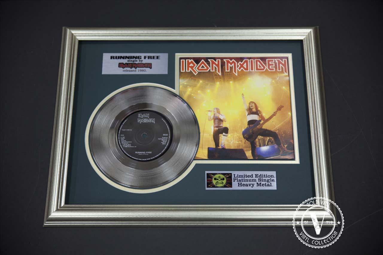 Iron Maiden - Running Free ( Single )